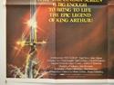 EXCALIBUR (Bottom Left) Cinema Quad Movie Poster