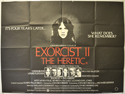 EXORCIST II : THE HERETIC Cinema Quad Movie Poster
