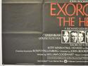 EXORCIST II : THE HERETIC (Bottom Left) Cinema Quad Movie Poster