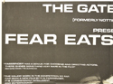 FEAR EATS THE SOUL (Top Left) Cinema Quad Movie Poster