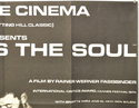 FEAR EATS THE SOUL (Top Right) Cinema Quad Movie Poster