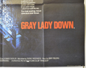 GRAY LADY DOWN (Bottom Right) Cinema Quad Movie Poster