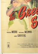 THE GREEN SCARF (Bottom Left) Cinema One Sheet Movie Poster