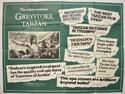 GREYSTOKE THE LEGEND OF TARZAN Cinema Quad Movie Poster