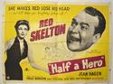 HALF A HERO Cinema Quad Movie Poster