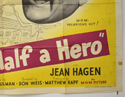 HALF A HERO (Bottom Right) Cinema Quad Movie Poster