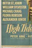 HIGH TIDE AT NOON (Bottom Left) Cinema One Sheet Movie Poster