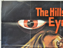 THE HILLS HAVE EYES (Top Left) Cinema Quad Movie Poster