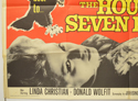 THE HOUSE OF THE SEVEN HAWKS (Bottom Left) Cinema Quad Movie Poster