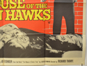 THE HOUSE OF THE SEVEN HAWKS (Bottom Right) Cinema Quad Movie Poster
