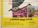 I WALK THE LINE / YOU CAN'T WIN 'EM ALL (Bottom Left) Cinema Quad Movie Poster
