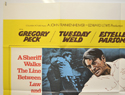 I WALK THE LINE / YOU CAN'T WIN 'EM ALL (Top Left) Cinema Quad Movie Poster