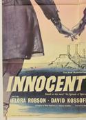 INNOCENT SINNERS (Bottom Left) Cinema One Sheet Movie Poster