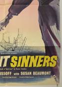 INNOCENT SINNERS (Bottom Right) Cinema One Sheet Movie Poster