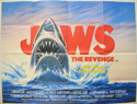 JAWS - THE REVENGE Cinema Quad Movie Poster