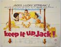 KEEP IT UP JACK Cinema Quad Movie Poster