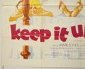KEEP IT UP JACK (Bottom Left) Cinema Quad Movie Poster
