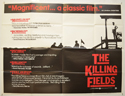 THE KILLING FIELDS Cinema Quad Movie Poster