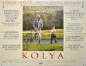 KOLYA Cinema Quad Movie Poster