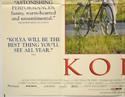 KOLYA (Bottom Left) Cinema Quad Movie Poster