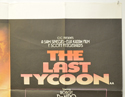 THE LAST TYCOON (Top Right) Cinema Quad Movie Poster