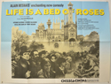 LIFE IS A BED OF ROSES Cinema Quad Movie Poster