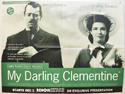 MY DARLING CLEMENTINE Cinema Quad Movie Poster