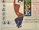 PEPE (Bottom Left) Cinema Quad Movie Poster