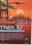 STAR TREK IV : THE VOYAGE HOME (Bottom Right) Cinema One Sheet Movie Poster