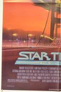STAR TREK IV : THE VOYAGE HOME (Bottom Left) Cinema One Sheet Movie Poster