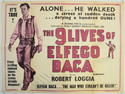THE 9 LIVES OF ELFEGO BACACinema Quad Movie Poster