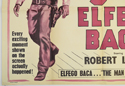 THE 9 LIVES OF ELFEGO BACA(Bottom Left) Cinema Quad Movie Poster