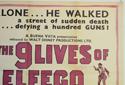 THE 9 LIVES OF ELFEGO BACA(Top Right) Cinema Quad Movie Poster