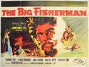 THE BIG FISHERMAN Cinema Quad Movie Poster