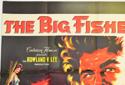 THE BIG FISHERMAN (Top Left) Cinema Quad Movie Poster