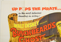BLACKBEARD'S GHOST (Top Left) Cinema Quad Movie Poster