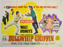 THE ADVENTURES OF BULLWHIP GRIFFIN Cinema Quad Movie Poster