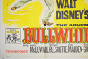 THE ADVENTURES OF BULLWHIP GRIFFIN (Bottom Left) Cinema Quad Movie Poster