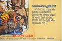 SCANDALOUS JOHN (Bottom Right) Cinema Quad Movie Poster