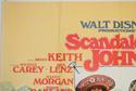 SCANDALOUS JOHN (Top Left) Cinema Quad Movie Poster