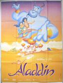 ALADDIN Cinema French Grande Movie Poster