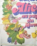 ALICE IN WONDERLAND (Bottom Left) Cinema French Grande Movie Poster