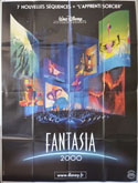 FANTASIA 2000 Cinema French Grande Movie Poster