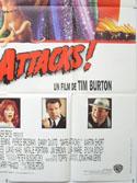 MARS ATTACKS (Bottom Right) Cinema French Grande Movie Poster