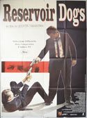 RESERVOIR DOGS Cinema French Grande Movie Poster