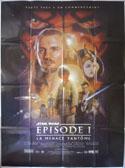 STAR WARS EPISODE 1 Cinema French Grande Movie Poster