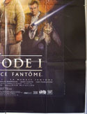 STAR WARS EPISODE 1 (Bottom Right) Cinema French Grande Movie Poster