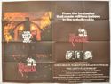 THE AMITYVILLE HORROR Cinema Quad Movie Poster