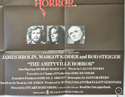THE AMITYVILLE HORROR (Bottom Right) Cinema Quad Movie Poster