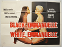 BLACK EMMANUELLE WHITE EMMANUELLE Cinema Quad Movie Poster